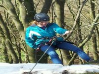 Abseiling is so much fun.