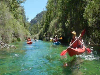 Canoes and snorkel in Alto Tajo