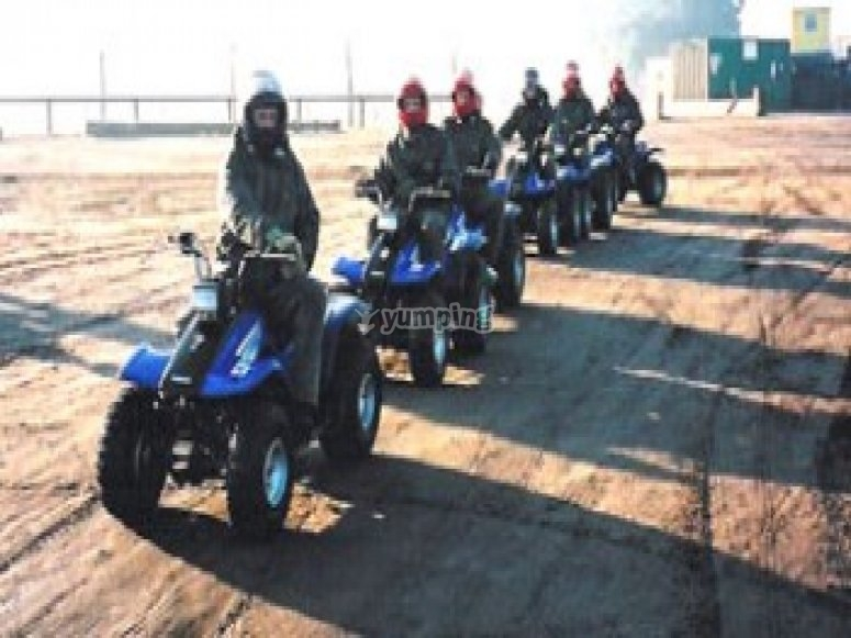 Quad Biking on our fleet of Yamaha
