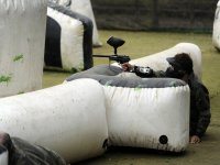 tournament paintball in action 2