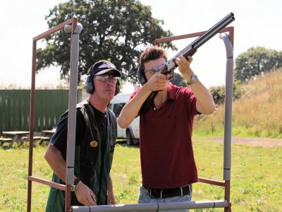 Group Clay Pigeon Shooting Session Bury St Edmunds