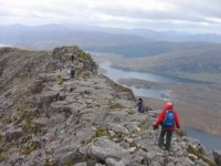 Hiking the Arkle in Sutherland