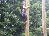 highropes are another fun activity.