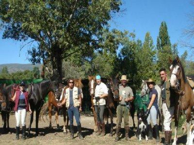 Horseride in Lozoya valley, 8 hours