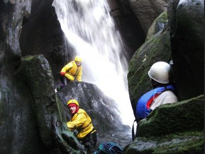 Kilbowie Outdoor Centre Canyoning