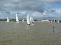 Enjoying a day of sailing