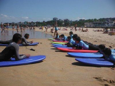 Escuela de surf Molinucos