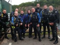 Our dive team