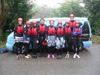 Team Building group, before Coasteering!!