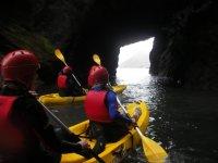 Sea Kayaking, North Devon Coastline.