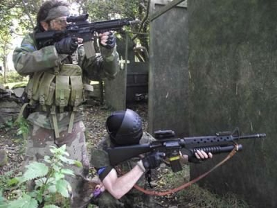 Full Day Airsoft Rental Downpatrick