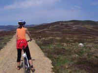 Mountian Biking in Angus