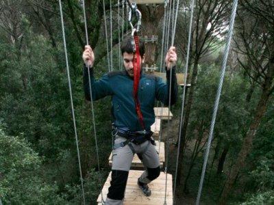 Treetop circuit, Canopy or Encantats, +14y/o