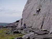 Introductory rock climbing courses