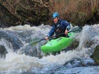 White water kayaking North Wales