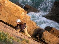 Rock climbing course for women