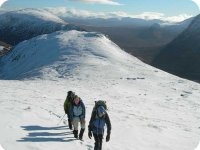 Guided winter walking