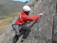 Lead climbing courses