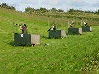Individual shooting posts