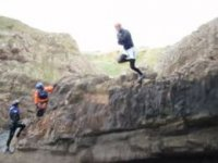 Leap from the clifftops!