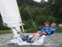 Duo sailing