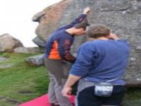 Bouldering practice