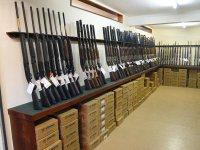 The gun room