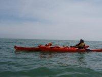 Kayaking is really fun.