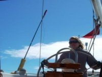 Standing at the helm