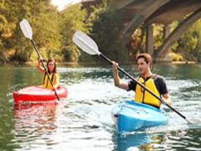 Outdoor Active Sports Kayaking