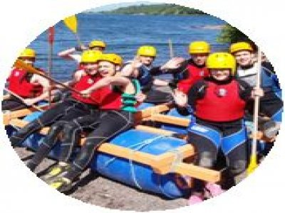 Outdoor Active Sports Rafting