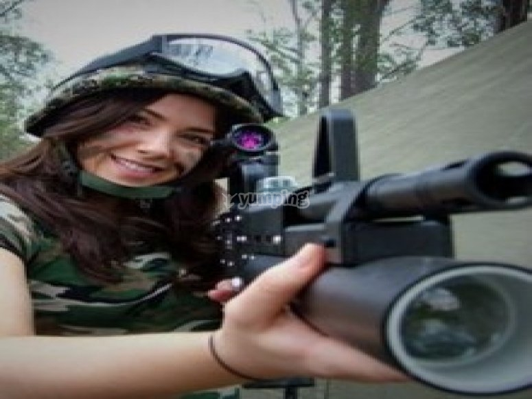 Female solider