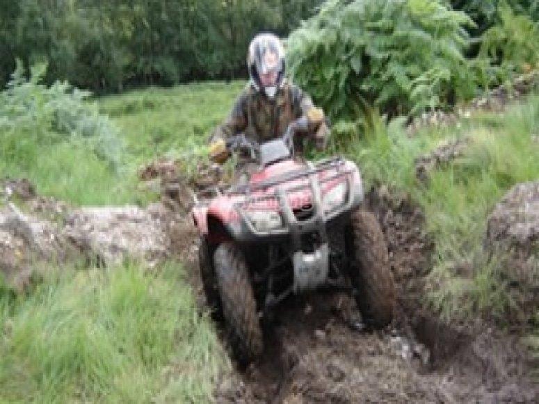 Tearing through the mud