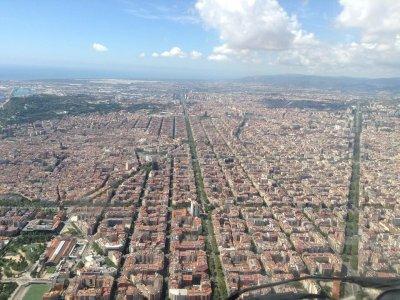 10 Minute Helicopter Flight. Barcelona SkyTour