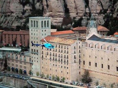 Flight in Helicopter - Monserrat Tour