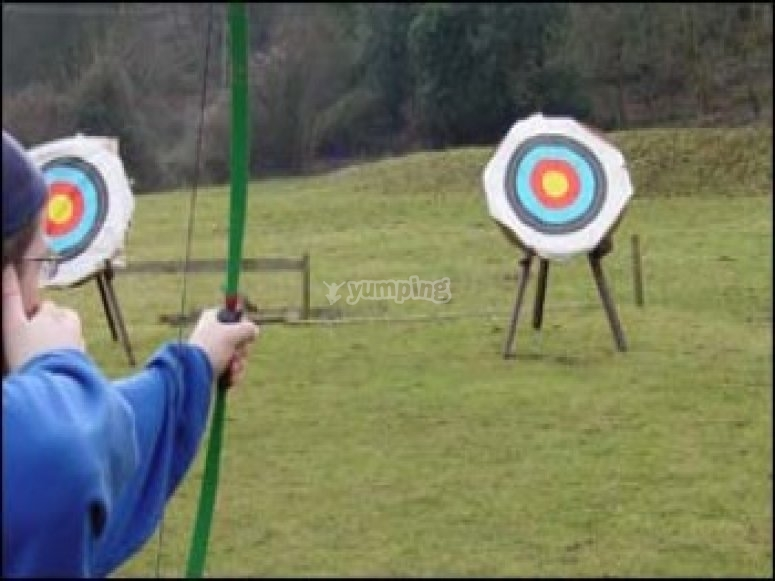 Archery in the countryside