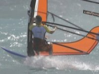 Enjoying some sunny windsurfing