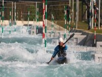 Take on our slalom and compete against the Olympic professionals
