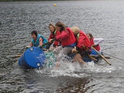 Shaggy Sheep Wales Rafting