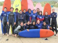 Surfing for Groups