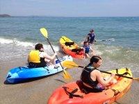 Kayaking experience in Cornwall