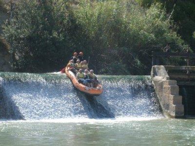 Rafting in Segura river, from Cieza to El Jarral
