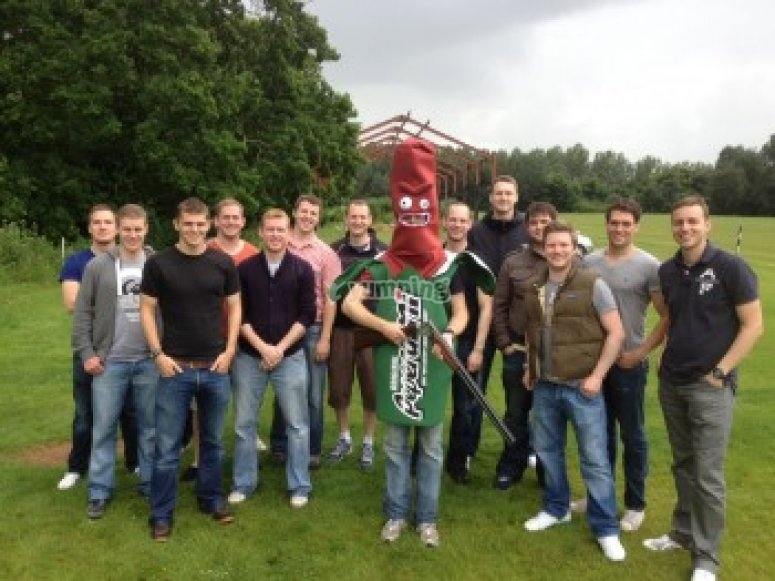 A stag do at our venue