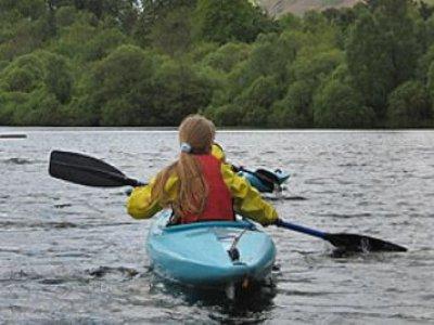 Keswick Climbing Wall Kayaking