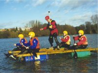 Have great fun with our Raft Building days