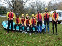 Water adventure with friends
