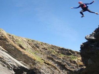 Extreme Coasteering Climbing