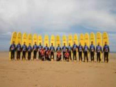 Extreme Coasteering Surfing