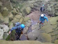 Scramble through beautiful gully's full of adventure