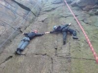 or you can take on the local crags and quarries